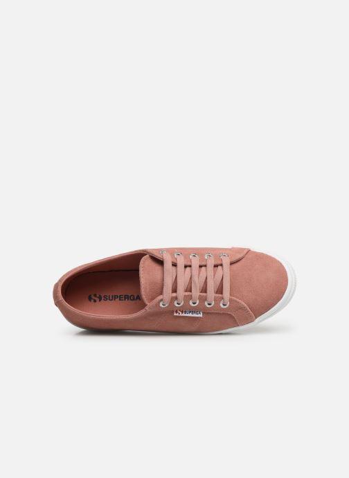 Sneaker Superga 2730 Sueu W rosa ansicht von links