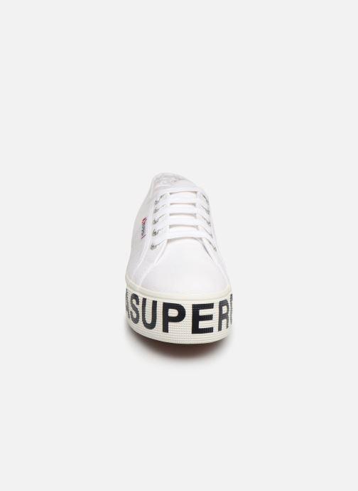 Sneaker Superga 2790 CotW Outsole Letteri weiß schuhe getragen
