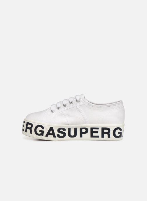 Sneaker Superga 2790 CotW Outsole Letteri weiß ansicht von vorne