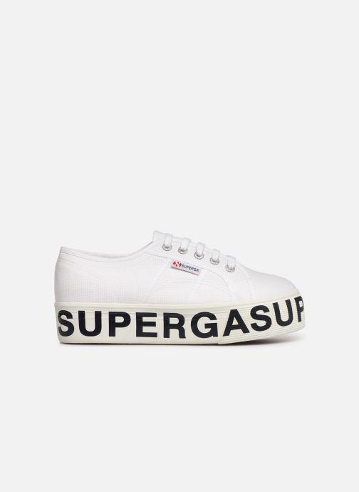 Sneaker Superga 2790 CotW Outsole Letteri weiß ansicht von hinten