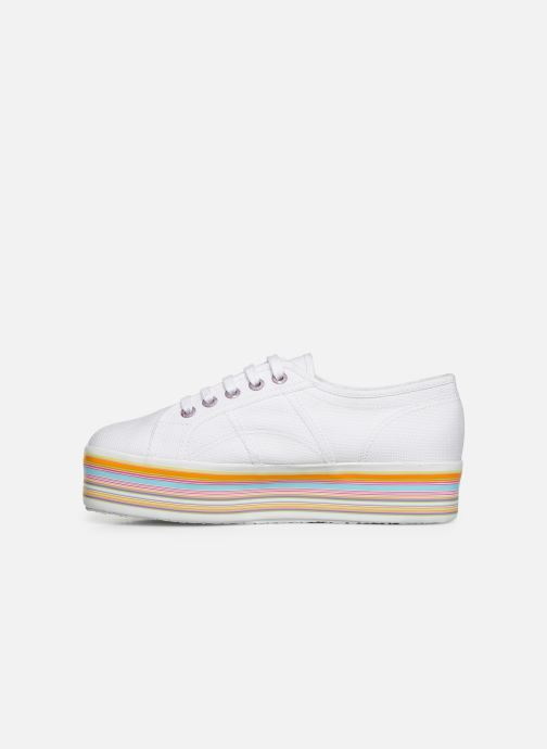 Trainers Superga 2790 Multicolor Cot W White front view