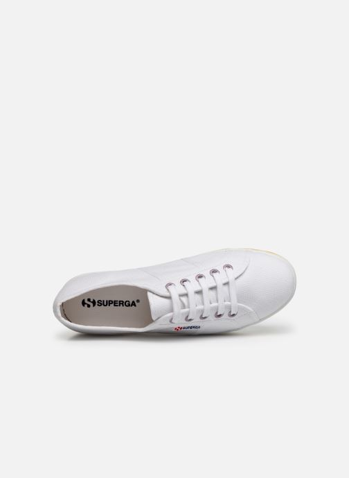 Trainers Superga 2790 Multicolor Cot W White view from the left