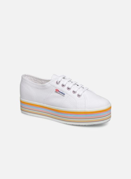 Trainers Superga 2790 Multicolor Cot W White detailed view/ Pair view