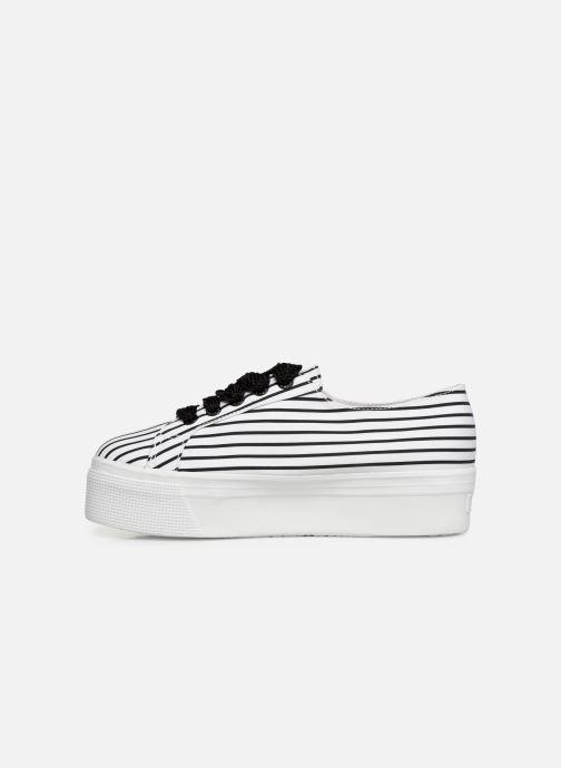 Sneaker Stripe W weiß Superga 2790 360624 Cot xaqUnXp