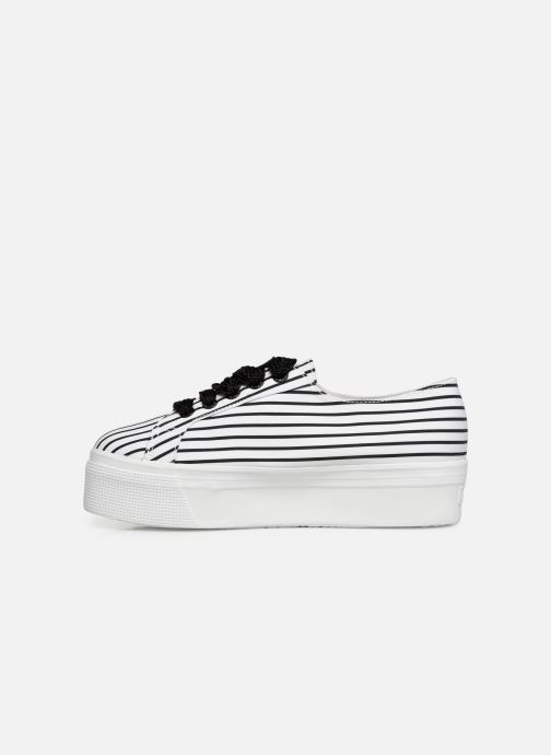 Superga White Stripe stripes W Black Cot Baskets 2790 xWEdBerCoQ