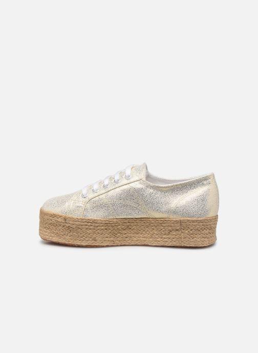 Sneakers Superga 2790 Jersey Frost Lame W Oro e bronzo immagine frontale