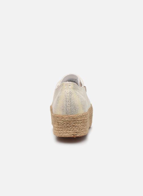 Sneakers Superga 2790 Jersey Frost Lame W Oro e bronzo immagine destra