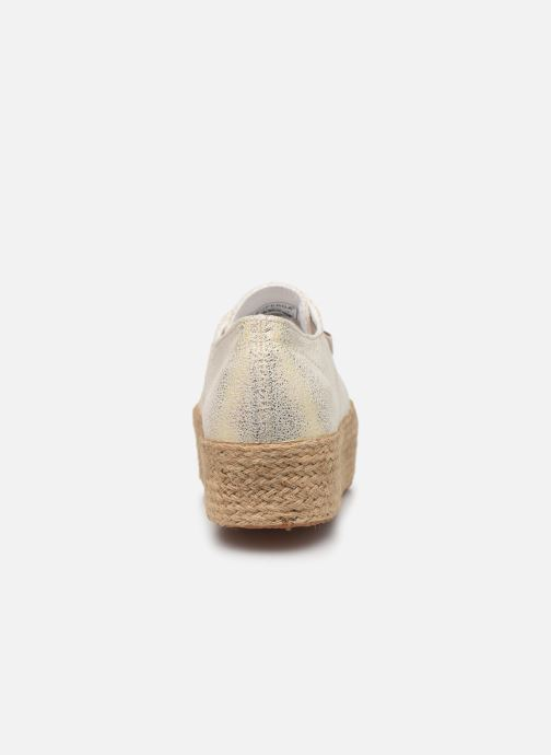 Baskets Superga 2790 Jersey Frost Lame W Or et bronze vue droite