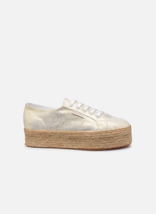 Sneakers Superga 2790 Jersey Frost Lame W Oro e bronzo immagine posteriore