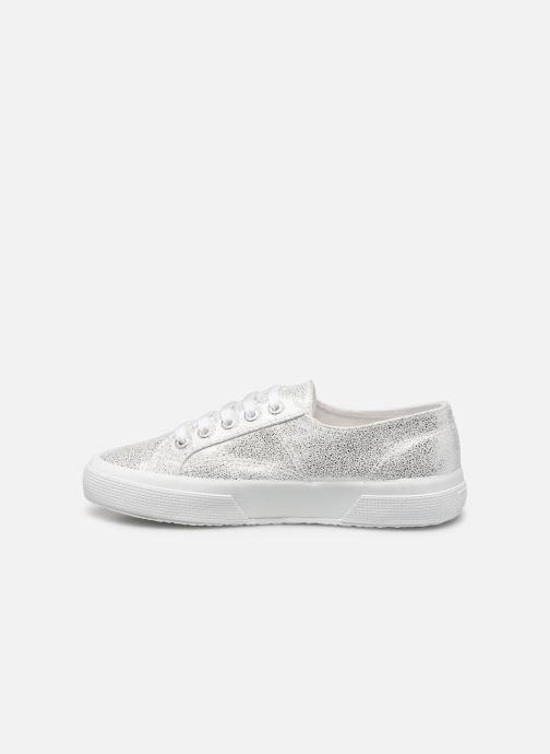 Sneakers Superga 2790 Jersey Frost Lame W Zilver voorkant