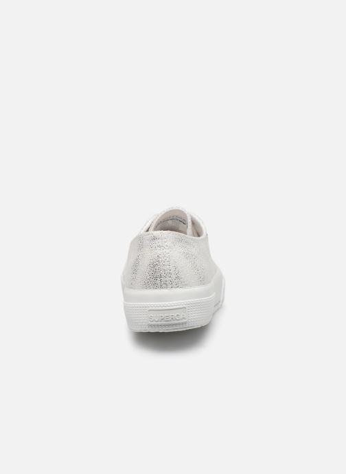 Sneakers Superga 2790 Jersey Frost Lame W Zilver rechts