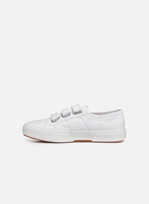 Sneaker Superga 2750 Cot 3 Strapu C weiß ansicht von vorne