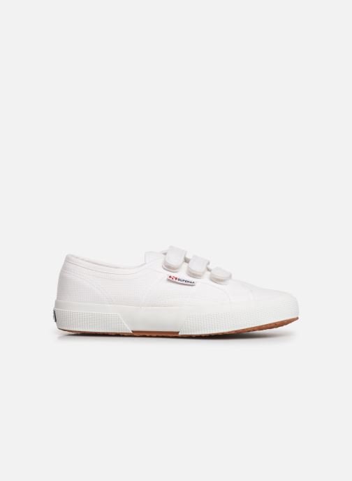 Sneakers Superga 2750 Cot 3 Strapu C Wit achterkant