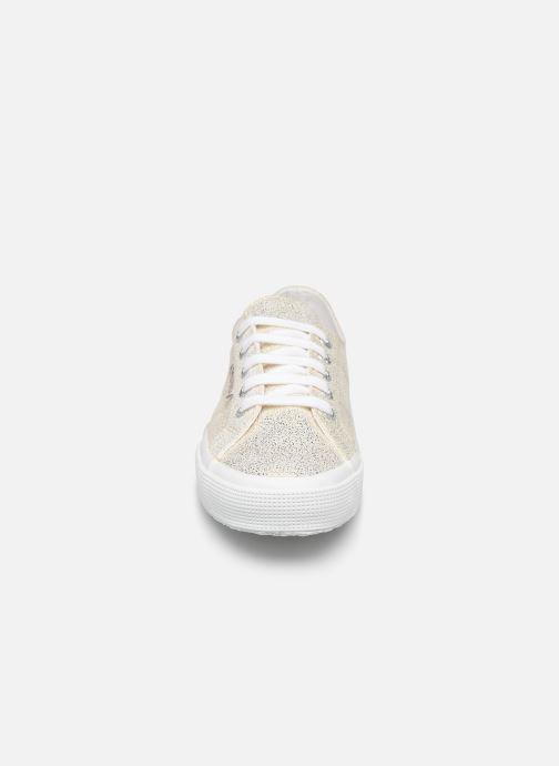 Sneakers Superga 2750 Jersey Frost Lame W Goud en brons model
