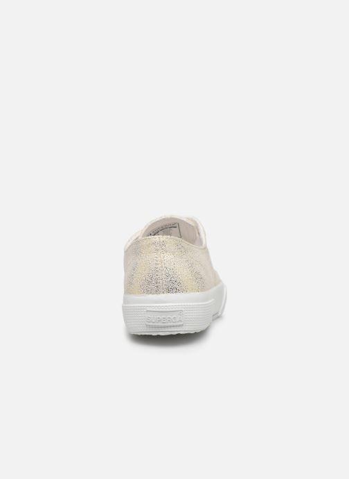 Sneakers Superga 2750 Jersey Frost Lame W Goud en brons rechts