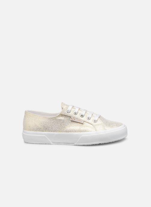 Sneakers Superga 2750 Jersey Frost Lame W Goud en brons achterkant