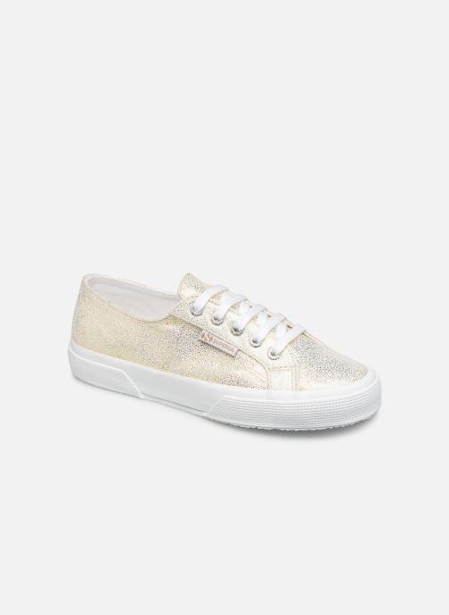 Sneakers Superga 2750 Jersey Frost Lame W Goud en brons detail