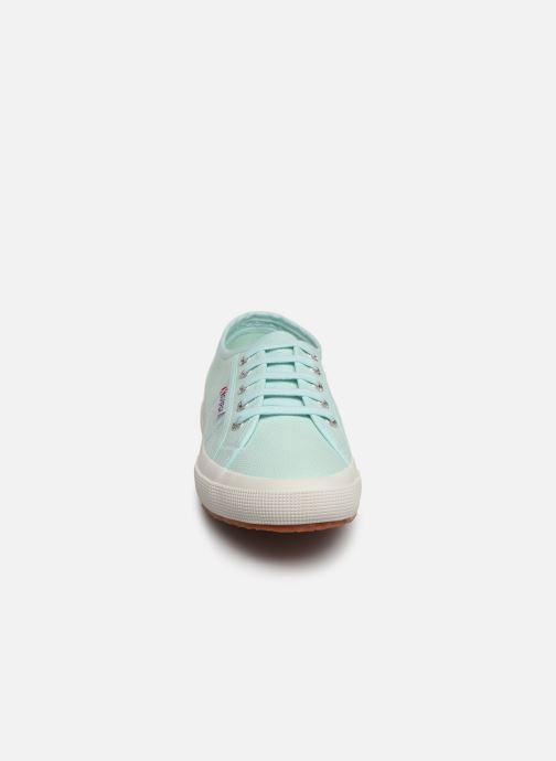 Baskets Superga 2750 Cotu  C W Vert vue portées chaussures