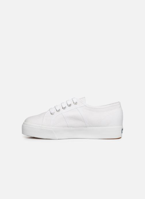 Baskets Superga 2730 Cotu C W Blanc vue face