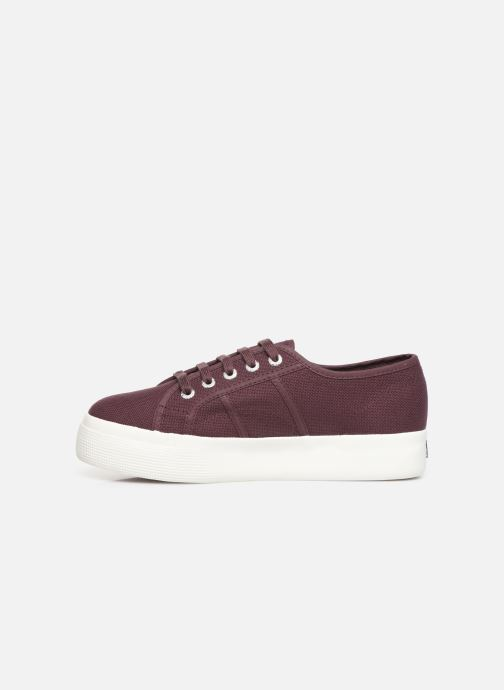 Baskets Superga 2730 Cotu C W Bordeaux vue face