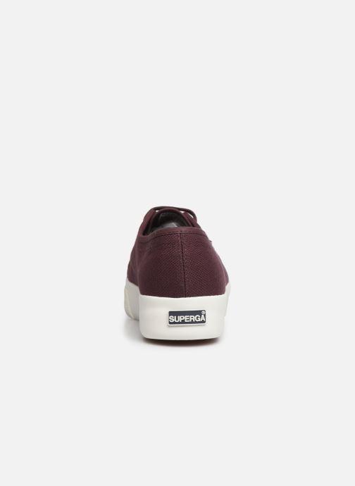 Sneakers Superga 2730 Cotu C W Bordeaux rechts