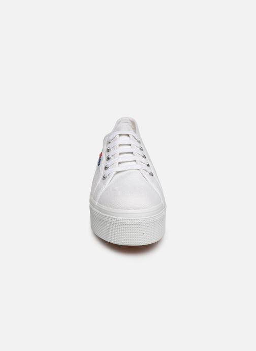Sneaker Superga 2790 Cot Plato Linea C W weiß schuhe getragen