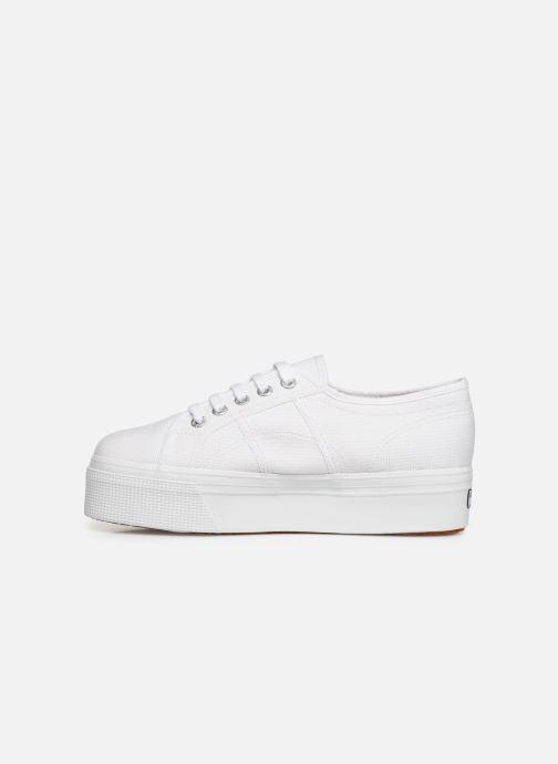 Sneaker Superga 2790 Cot Plato Linea C W weiß ansicht von vorne
