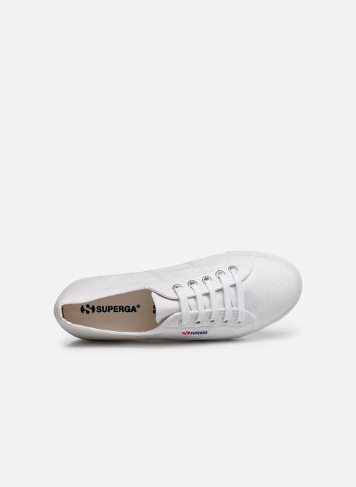 Sneaker Superga 2790 Cot Plato Linea C W weiß ansicht von links