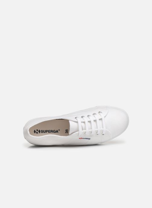Sneakers Superga 2790 Cot Plato Linea C W Wit links