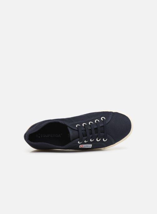 Sneakers Superga 2790 Cot Plato Linea C W Blauw links