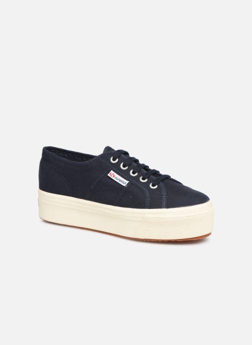 Sneakers Superga 2790 Cot Plato Linea C W Blauw detail