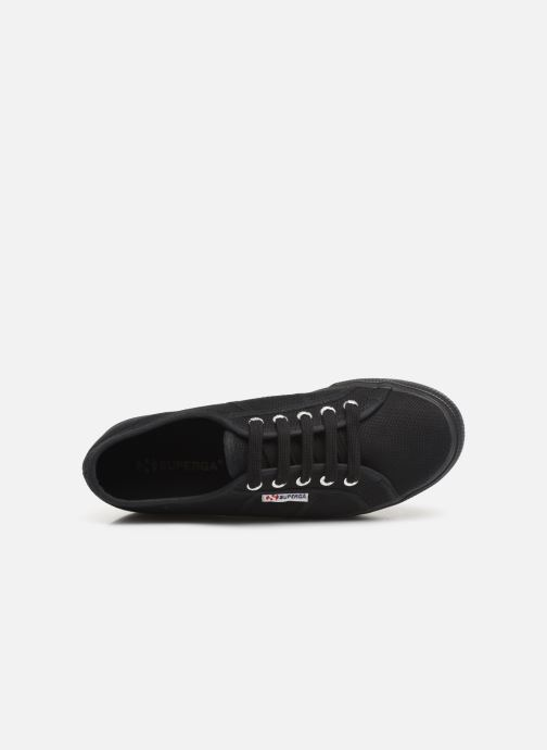 Sneakers Superga 2790 Cot Plato Linea C W Zwart links