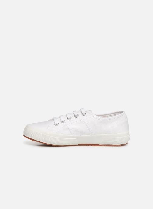 Trainers Superga 2750 Cotu C W White front view