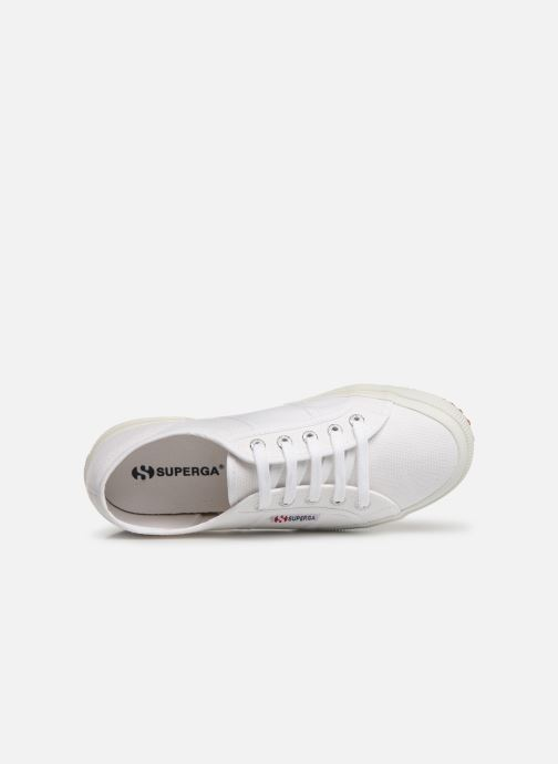 Trainers Superga 2750 Cotu C W White view from the left