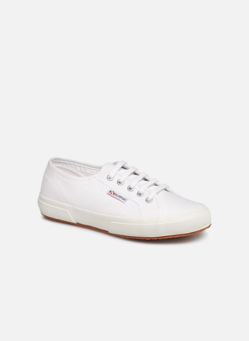 Trainers Superga 2750 Cotu C W White detailed view/ Pair view