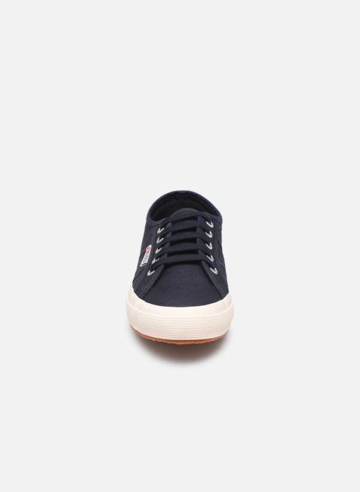 Baskets Superga 2750 Cotu C W Bleu vue portées chaussures
