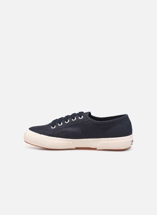 Sneakers Superga 2750 Cotu C W Blauw voorkant