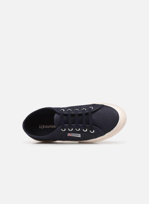 Sneakers Superga 2750 Cotu C W Blå se fra venstre