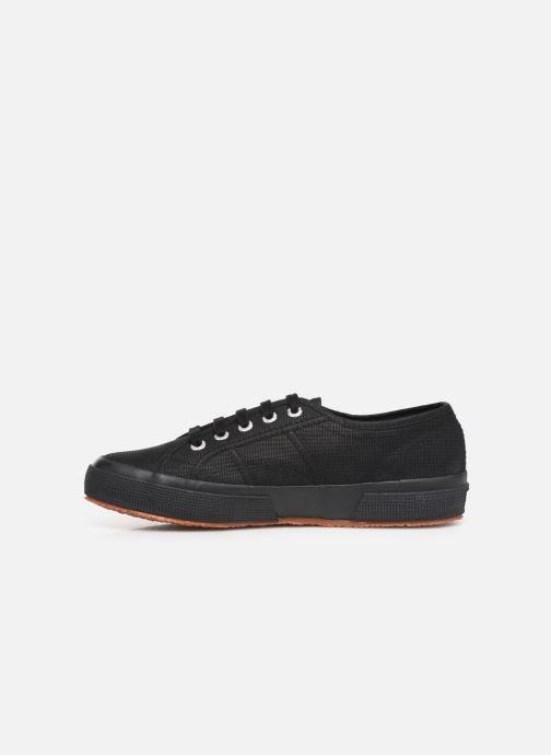 Sneakers Superga 2750 Cotu C W Zwart voorkant