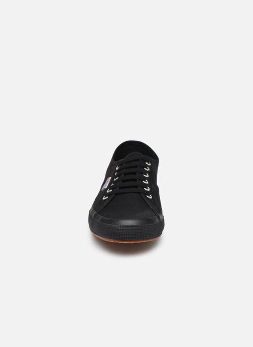Sneaker Superga 2750 Cotu C M schwarz schuhe getragen