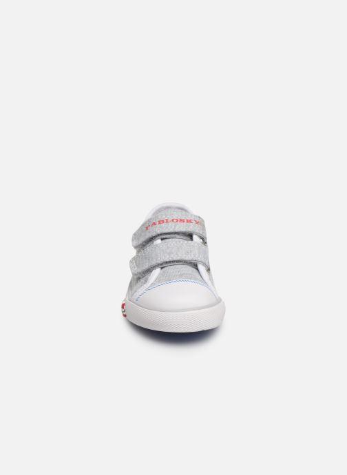 Sneaker Pablosky Octavio grau schuhe getragen