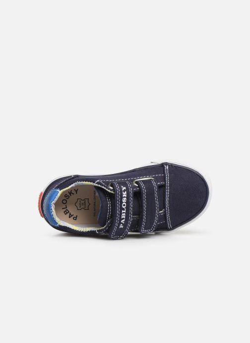 Sneaker Pablosky Octavio blau ansicht von links