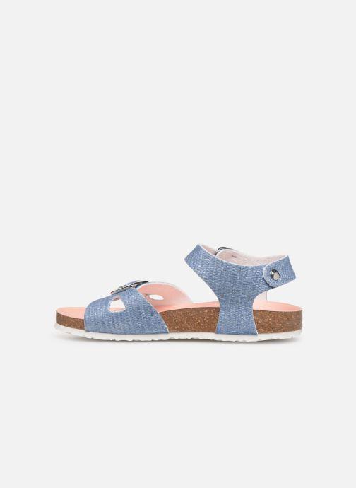 Sandales et nu-pieds Pablosky Clarissa Bleu vue face