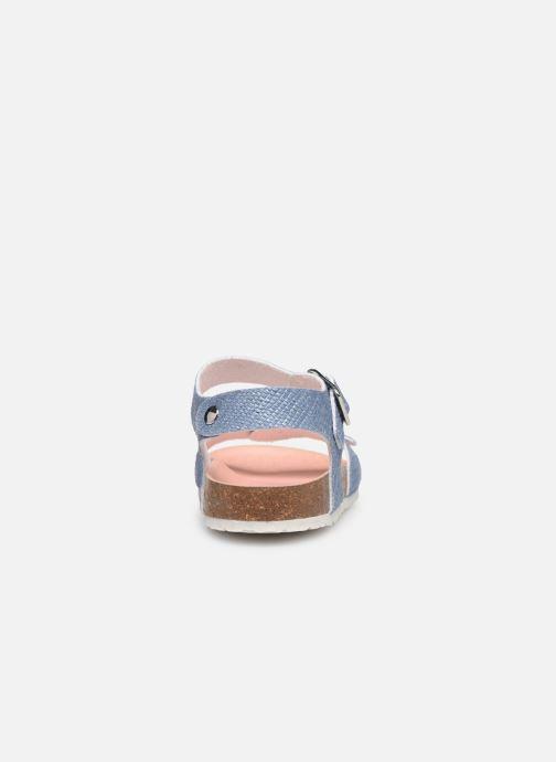 Sandales et nu-pieds Pablosky Clarissa Bleu vue droite