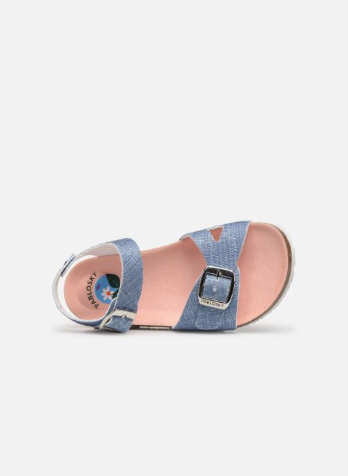 Sandales et nu-pieds Pablosky Clarissa Bleu vue gauche