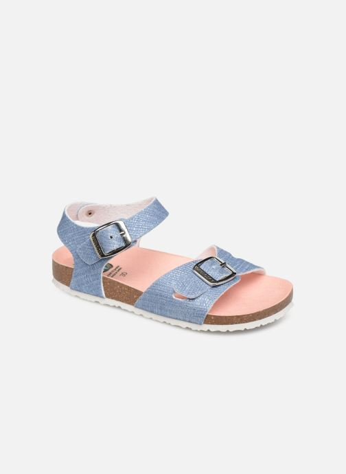 Sandals Pablosky Clarissa Blue detailed view/ Pair view