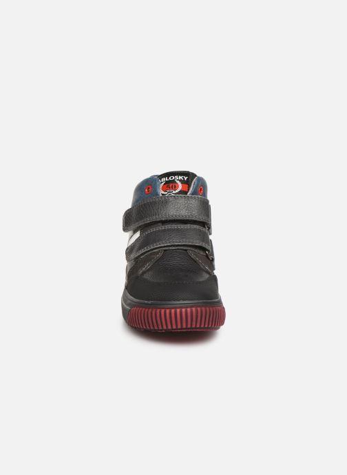 Sandales et nu-pieds Pablosky Mario Gris vue portées chaussures