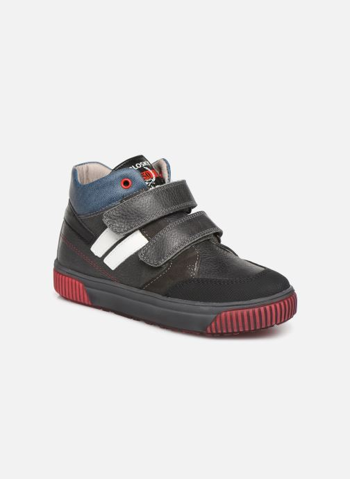 Sandales et nu-pieds Pablosky Mario Gris vue détail/paire