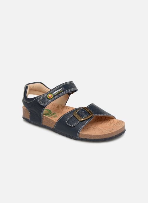 Sandales et nu-pieds Pablosky Ignacio Bleu vue détail/paire