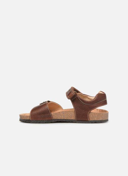 Sandales et nu-pieds Pablosky Ignacio Marron vue face